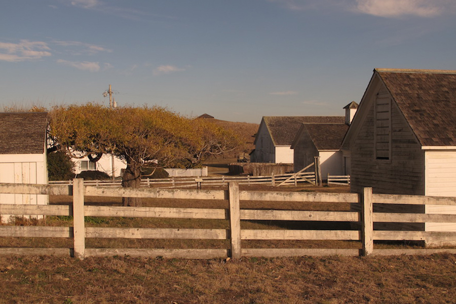 Pierce Point Ranch - The starting point