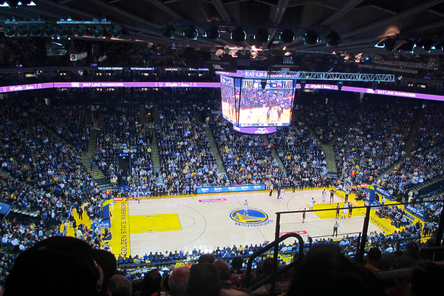 Warriors vs. Heat NBA game