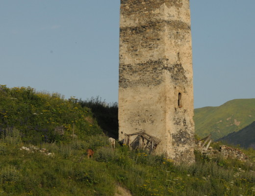 Defense tower in Svaneti